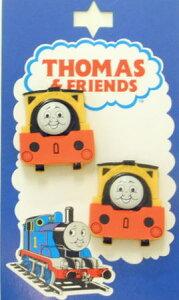 TM9キャラクターボタンきかんしゃトーマス型抜き正面ボタン ビル&ベン TM9ネコポス発送可能