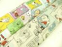 キャラクター生地 布 2017年 入園入学 キルティング生地 スヌーピー GQ3544standard 定番商品 商用利用不可