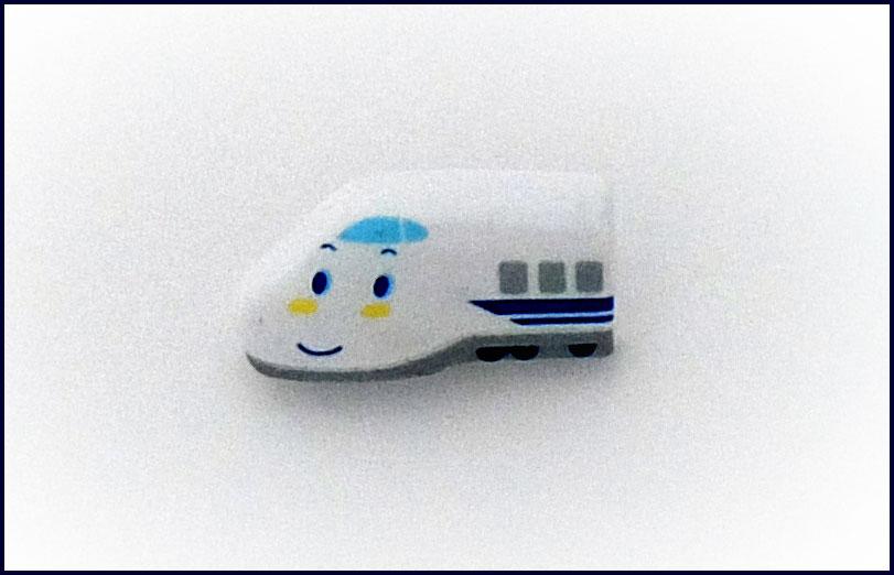 キャラクターボタンサンリオ シンカンセンRIO-1806B約縦25×横13mm