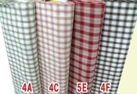 メーカー完売 先染めチェック柄 生地/布AY20114 110cm巾 綿100% 商用利用可能
