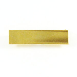 MIYUKI ミユキデリカビーズ織り金具パーツ ブローチ金具(貼付用)商品番号 BR3/G