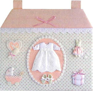 在庫処分 オリムパス ベビー・メモリアルボード 女の子 MEK−4 出産祝い ネコポス発送不可