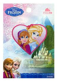 MY3002-MY348 キャラクターワッペン アップリケ アナと雪の女王 MY3002−MY348 アナ&エルサ