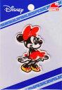 キャラクターワッペン アップリケ 【キャラクター】ミニーマウス ☆ワッペンMY5501-MY409