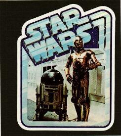 キャラクターシール スターウォーズステッカー R2-D2&C-3PO キャラクター シール ステッカー SWST76 ネコポス発送可能