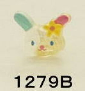 在庫限り キャラクターボタン サンリオ ウサハナ うさはな RIO−1279B 日用品雑貨・文房具・手芸 手芸・クラフト・生地 和洋裁材料 ボタン