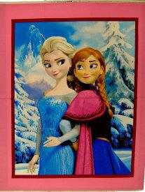 パネル柄 輸入 USAコットン キャラクター生地 布 ディズニー アナと雪の女王 52337−C470715 正規ライセンス品 商用利用不可