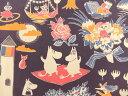 【楽天ランキング入賞商品】正規ライセンス品 2016年 キャラクター生地 布 パネル柄生地 (約45×155cm) ムーミン マジ…