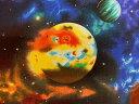 生地 布 USAコットン Stargazers スターゲイザー EKJM6075−2ブラック 宇宙柄 天文学者 ロバートカフマン ROBERT KAUF…