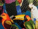 USAコットン 生地 布 バーヅオブアフェザー 2884AMulti アレキサンダーヘンリー ファブリックス Birds of a Feather …
