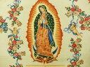 輸入 USAコットン 生地 布 グアダルーペの聖母 M6195X アレキサンダーヘンリー ファブリックス メキシコ 聖母像 THE ALEXANDER HENRY FABRICS Virgin of