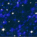 USAコットン 生地 布 インスペース 1299blue エリザベススタジオ In Space 夜空 宇宙 星 商用利用可能