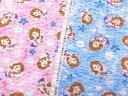 2017年 キャラクターリップル生地 布 ディズニー ちいさなプリンセス ソフィア G7311−1 手作り浴衣・甚平・アロハシ…