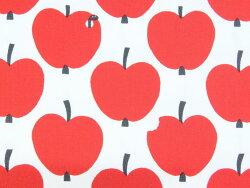 【エントリーでポイント10倍】SMIF-03R北欧オックスプリント生地布オンップFINF-03Rフィンレイソンフルーツ柄リンゴ商用利用不可