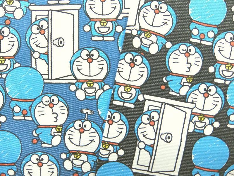 G8110-1 キャラクター生地 布 2018年 入園入学 TCツイル アイムドラえもん I'm Doraemon 藤子プロ G8110−1 レッスンバッグ 体操着入れ 巾着袋に 商用利用不可