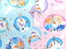 キャラクター生地 布 ディズニー アナと雪の女王 G7358−1 2020年 継続 入園入学 商用利用不可