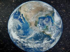Q4407-58 パネル柄 生地 布 輸入 USAコットン アウト オブ ディス ワールド Q4407−58 ホフマンカリフォルニアファブリックス デジタルプリント 宇宙柄 地球 商用利用可能