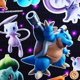 デジタルプリント キャラクター生地 ポケットモンスター G6072−1 ポケモン ミュウツーの逆襲EVOLUTION 2020年 継続 商用利用不可