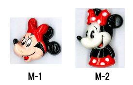 在庫限り キャラクターボタン 【ミニー】  日用品雑貨・文房具・手芸 手芸・クラフト・生地 和洋裁材料 ボタン