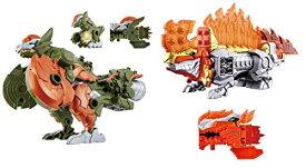 バンダイ 騎士竜戦隊リュウソウジャー 騎士竜シリーズ06 DXディメボルケーノ + 騎士竜シリーズ10 DXパキガルー セット