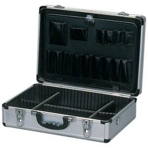 アルミケース AM-15 大容量 送料無料 ビジネス アタッシュケース アルミアタッシュケース A3 軽量 ブリーフ ウレタン内装 鍵付き 仕切り ショルダーベルト付き 工具 道具 整理 収納 アイリスオ