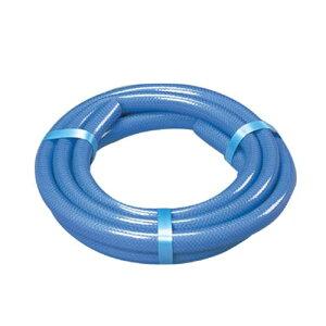 耐圧糸入りカットホース ブルー 3M☆