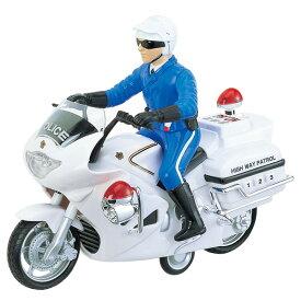 【取寄品】3歳から サウンドポリスバイク 【TC】【トイコー・TOYCO・フリクションシリーズ・男の子向け・車・くるま・働く車】