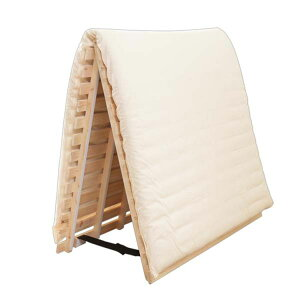 檜すのこベッド 簀子 簀子ベッド ひのき 檜 2つ折り セミダブル送料無料 すのこベッド ひのき すのこマット 折りたたみベッド 折り畳みベッド 湿気 湿気対策 コンパクト 除湿 除湿マット コ