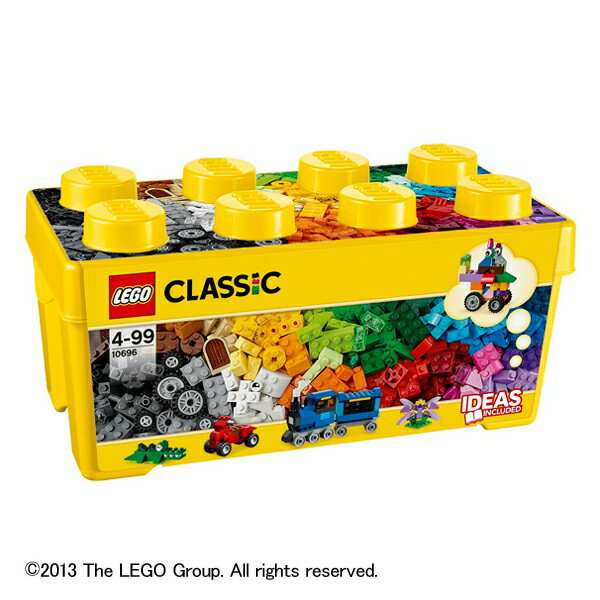 レゴ クラシック 10696 黄色のアイディアボックス <プラス> 送料無料 LEGO レゴブロック 知育玩具 おもちゃ 玩具 子供 男の子 女の子 指先の発達 積み木 つみき プレゼント クリスマス 【DC】