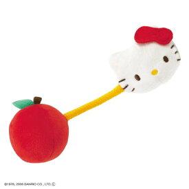 【ベビーおもちゃ ラトル】ハローキティ にぎにぎリンゴ【知育玩具 赤ちゃんのおもちゃ キティちゃん サンリオ COMBI】コンビ 【TC】