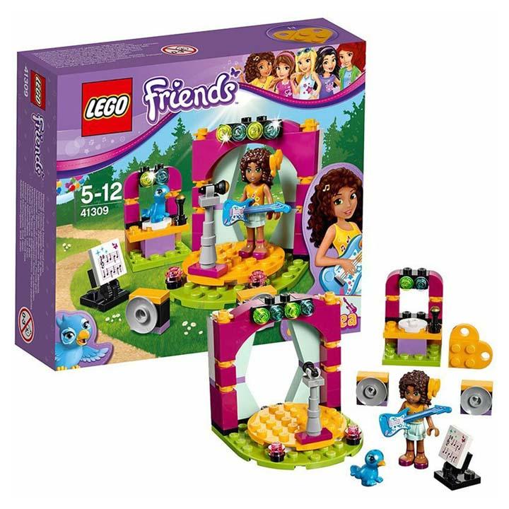 レゴ フレンズ アンドレアのミュージックステージ 41309玩具 組立ブロック 遊び LEGO レゴジャパン 【TC】