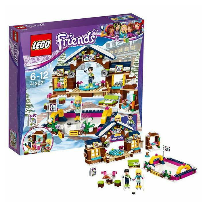 レゴ フレンズ スキーリゾート スケートリンク 41322送料無料 玩具 組立ブロック 遊び LEGO レゴジャパン 【TC】