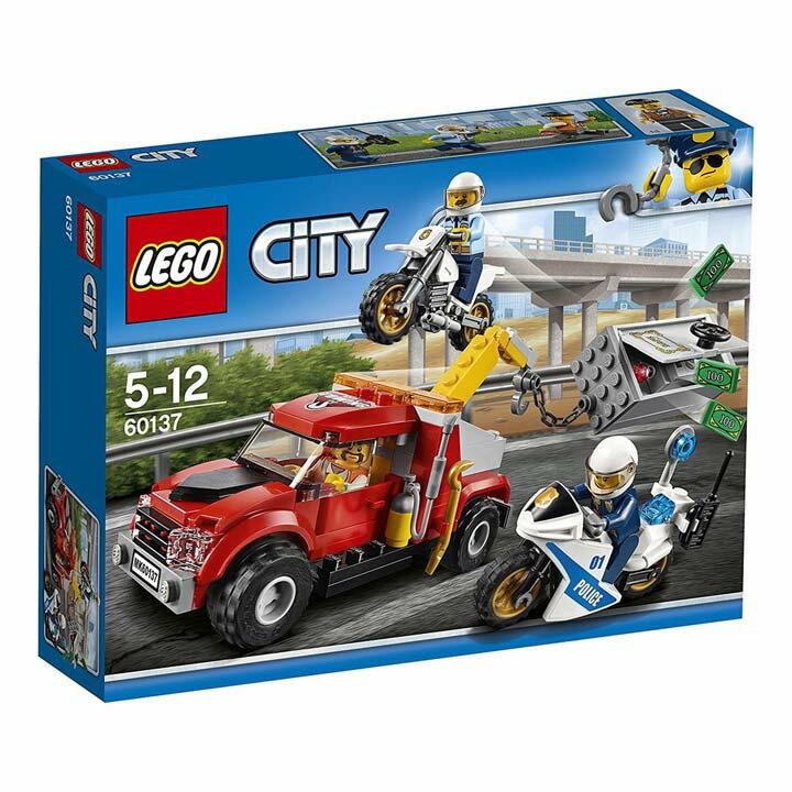 レゴ シティ 金庫ドロボウのレッカー車 60137玩具 組立ブロック 遊び LEGO レゴジャパン 【TC】