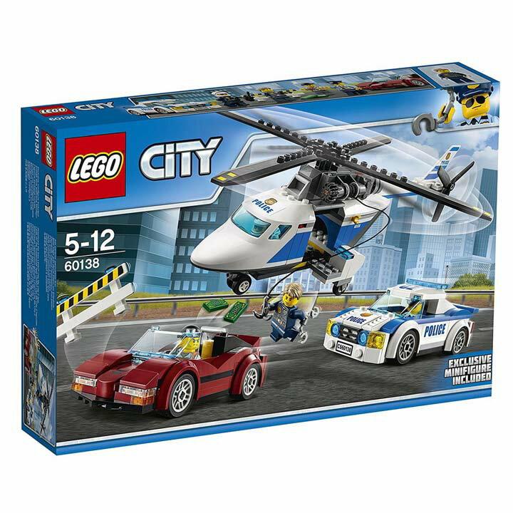 レゴ シティ ポリスヘリコプターとポリスカー 60138送料無料 玩具 組立ブロック 遊び LEGO レゴジャパン 【TC】