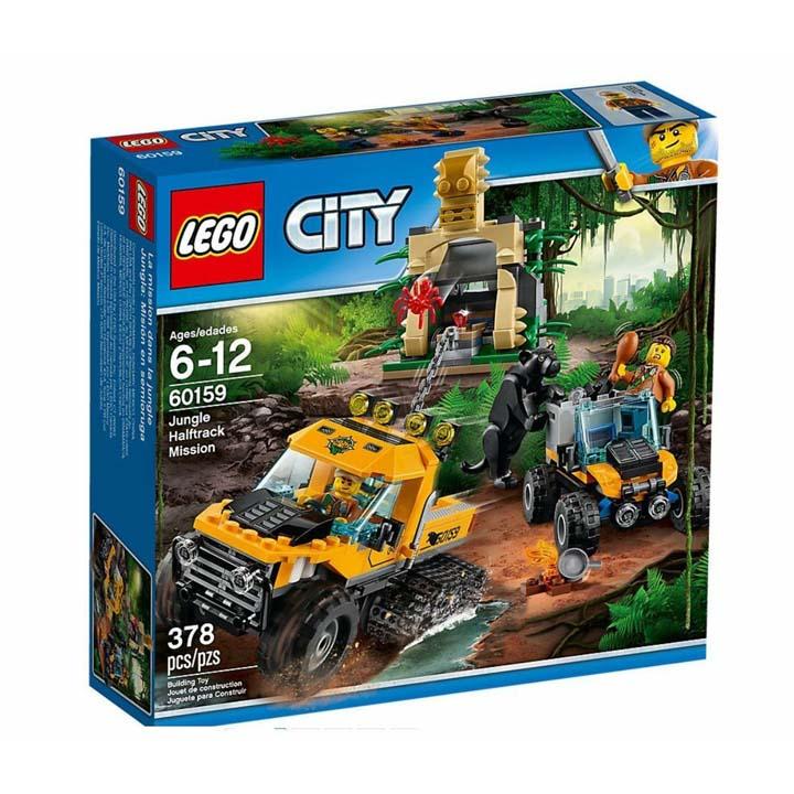 レゴ シティ ジャングル探検パワフルトラック 60159送料無料 玩具 組立ブロック 遊び LEGO レゴジャパン 【TC】