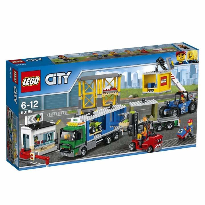 レゴ シティ レゴシティ配送センターとコンテナトラック 60169送料無料 玩具 組立ブロック 遊び LEGO レゴジャパン 【TC】