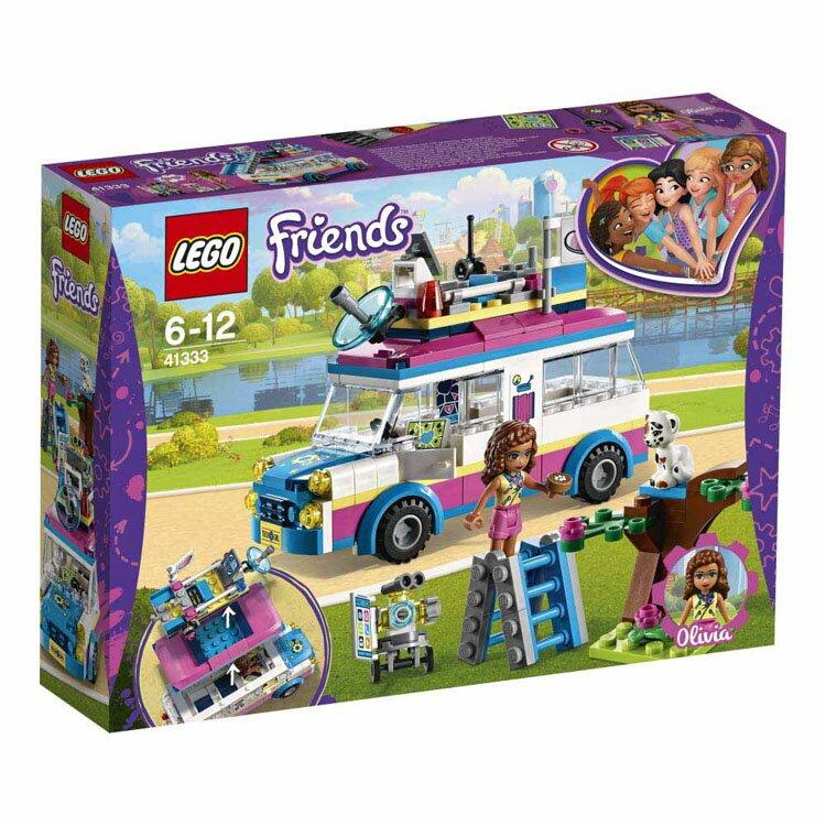 レゴ フレンズ オリビアのドキドキミッションワゴン 41333おもちゃ 玩具 ブロック 女の子向け ミニチュア お友達 LEGO Friends ギフト プレゼント レゴジャパン 【TC】