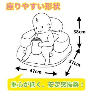 バスチェアベビーチェア椅子赤ちゃんイスいすチェアお風呂バス赤ちゃんふんわりバスチェアイエロー永和