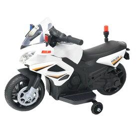 電動ポリスバイク BJC911送料無料 乗用玩具 子ども バイク おもちゃ 警察 エスアイエス アメリカン 遊び ポリス SIS 【D】