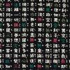 Kyoto from kurochiku kurofune T shirt /2014.COLLECTION-v-neck-(trick crane and black) are sending OK (140 yen)