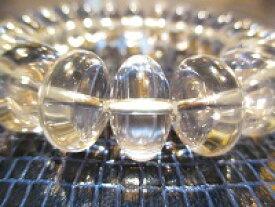 パワーストーン京屋【最高品質5Aランク】【超透明】【みかん玉本水晶】大玉18mm、ブレスレット《手首サイズLサイズ(18cm)》
