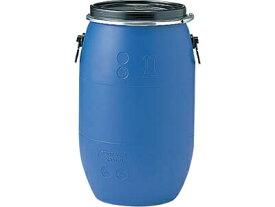 ドラム缶 プラスチックドラム(オープンタイプ)PDO75L−1