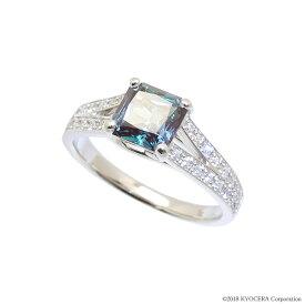 アレキサンドライト リング 指輪 プラチナ 6月誕生石 プレゼント クレサンベール 京セラ