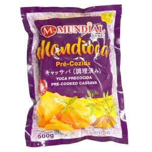 マンジョッカ (フライドポテト用) ムンディアルフーズ 500g mandioca precozida mundial foods【要冷凍】【あす楽対応】【ポテトフライ】【キャッサバ】【冷凍食品 ポテト】