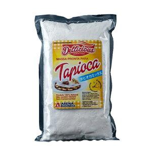 タピオカミックス粉(食品用精製澱粉) 500g Dellicious massa pronta para tapioca ARENA BUSINESS【要冷蔵】【あす楽対応】【ビーガン】【グルテンフリー】【massa pronta para tapioca】【非常食】【保存食】【