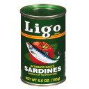 イワシのトマトソース漬け リゴ 155g Ligo Sardines In Tomato Sauce【イワシの缶詰 おすすめ】【缶詰 人気】【オイ…