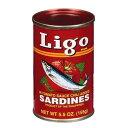 イワシのピリ辛トマトソース漬け リゴ 155g Ligo Sardines In Tomato Sauce Chili Sardines IWASHI【イワシの缶詰 お…