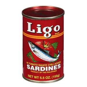 イワシのピリ辛トマトソース漬け リゴ 155g Ligo Sardines In Tomato Sauce Chili Sardines IWASHI【イワシの缶詰 おすすめ】【缶詰 人気】【オイルサーディン】【缶詰 セット】【非常食】【保存食】【