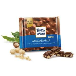 【スーパーセール20%OFF】リッタースポーツチョコレート マカダミアナッツ 100g【ドイツ チョコレート】【チョコレート マカダミア】【ミルクチョコ】【あす楽対応】 【楽ギフ_包