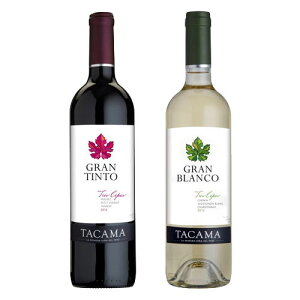 大使館御用達ブランド TACAMA 紅白ワイン 各3本セット(合計6本)【タカマ】【あす楽対応】【ワインギフト】【ペルーワイン】